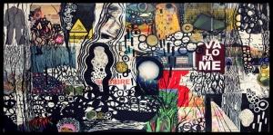 Soyut, Abstract-99 Dijital Fantastik Kanvas Tablo