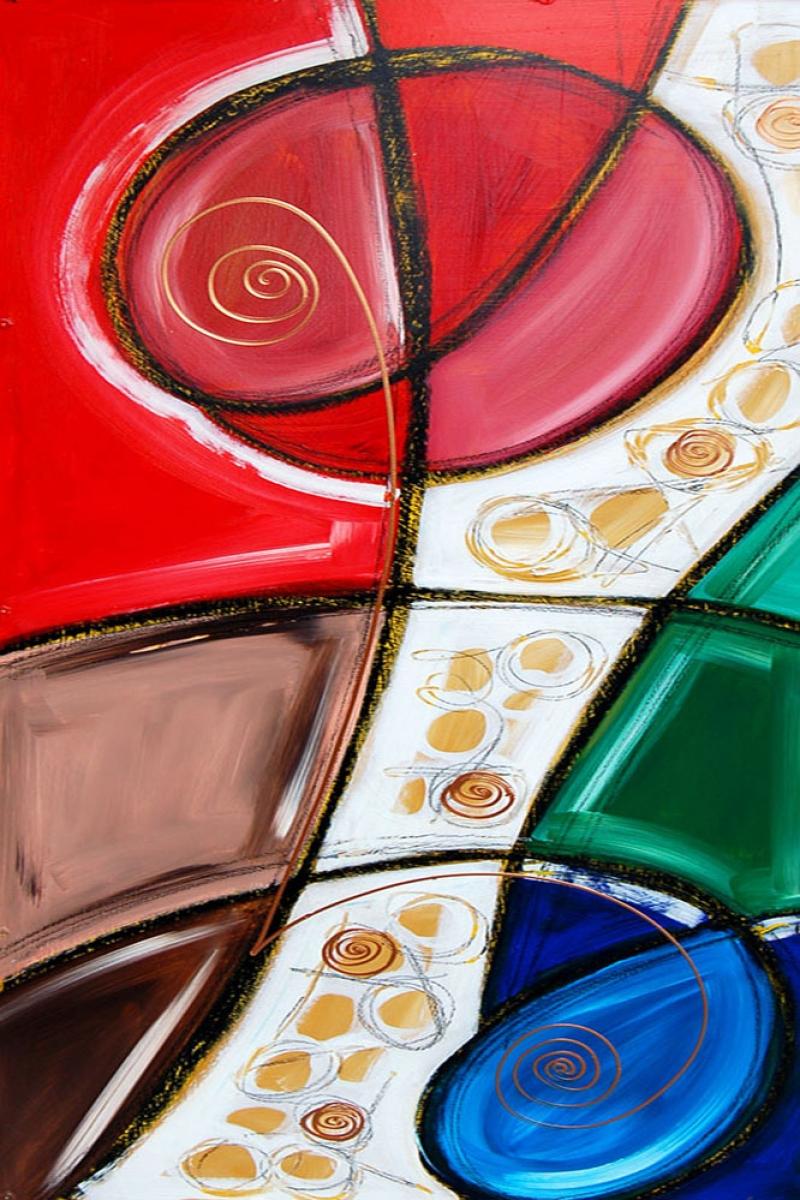 Soyut Abstract Sanat Kanvas Tablo