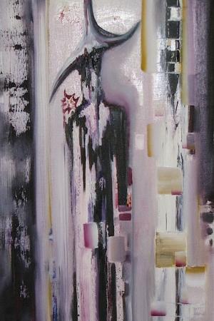 Soyut Ufo Modern Sanat Kanvas Tablo