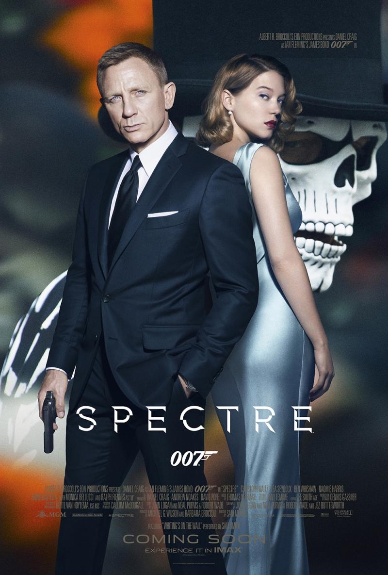 Spectre 007 Sinema Kanvas Tablo
