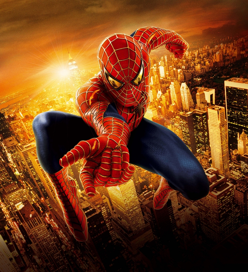 Spiderman Amazing Süper Kahramanlar Kanvas Tablo
