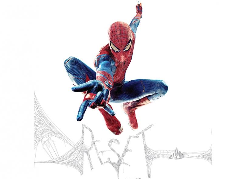 Spiderman Örümcek Adam Başlangıç Süper Kahramanlar Kanvas Tablo