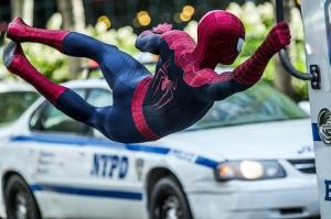 Spiderman Örümcek Adam Görevde Süper Kahramanlar Kanvas Tablo
