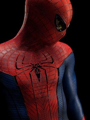 Spiderman Örümcek Adam Kostum Süper Kahramanlar Kanvas Tablo