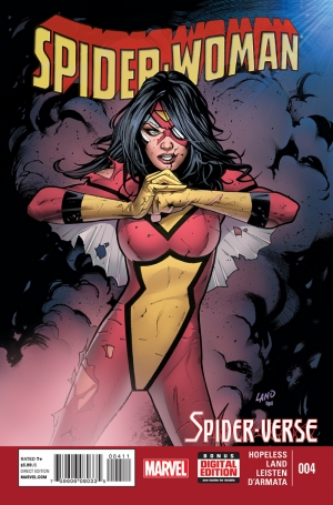 Spiderwoman Marvel Çizgi Roman Kanvas Tablo