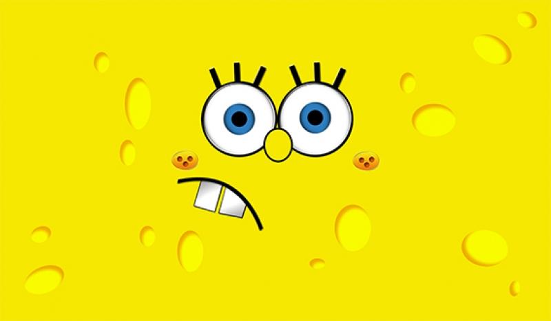 Sponge Bob Çizgi Film Bebek & Çocuk Dünyası Kanvas Tablo