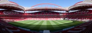 Sporting Lisbon Stadyum Panaromik Kanvas Tablo