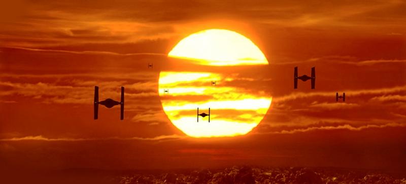 Star Wars 2 Sinema Kanvas Tablo
