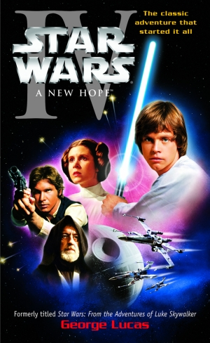 Star Wars 4 New Hope Yeni Umut Afiş Kanvas Tablo