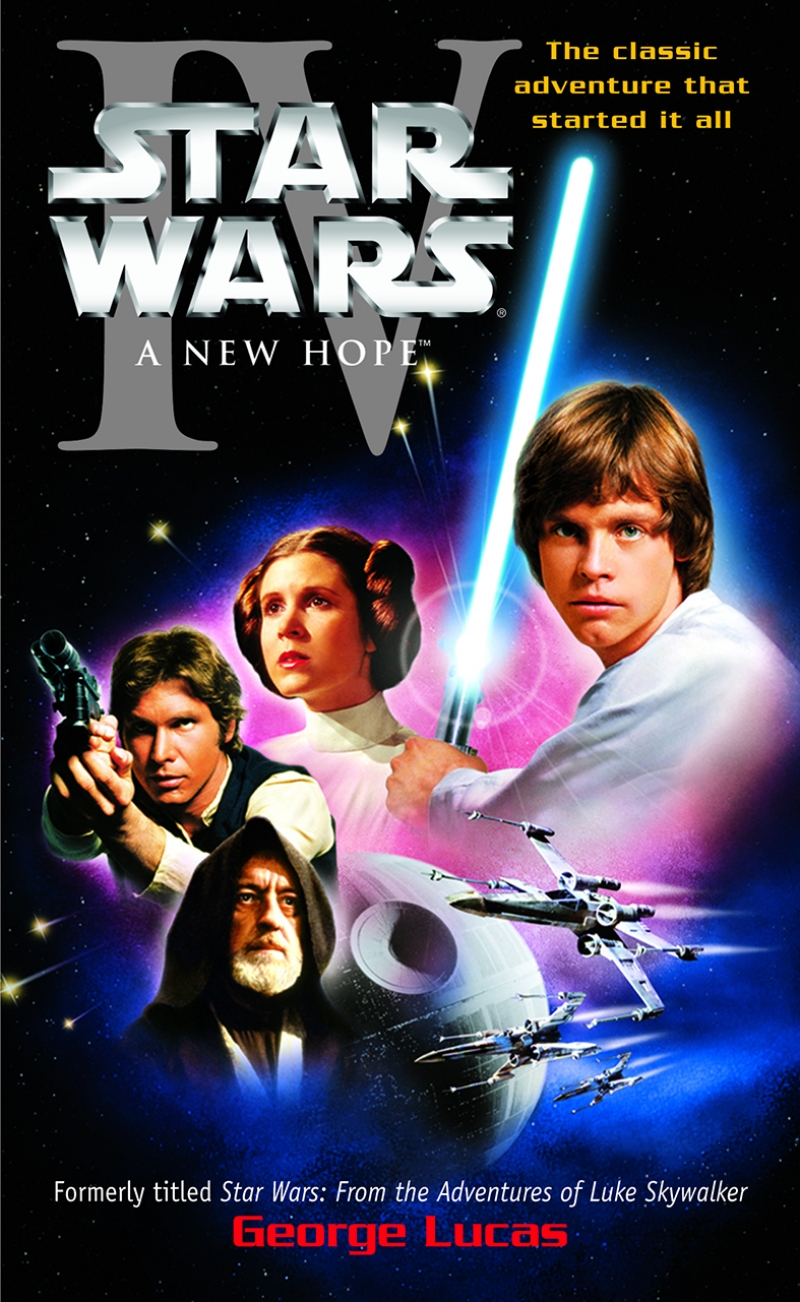 Star Wars 4 New Hope Yeni Umut Afiş Kanvas Tablo