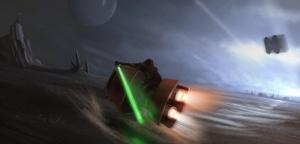 Star Wars 6 Sinema Kanvas Tablo