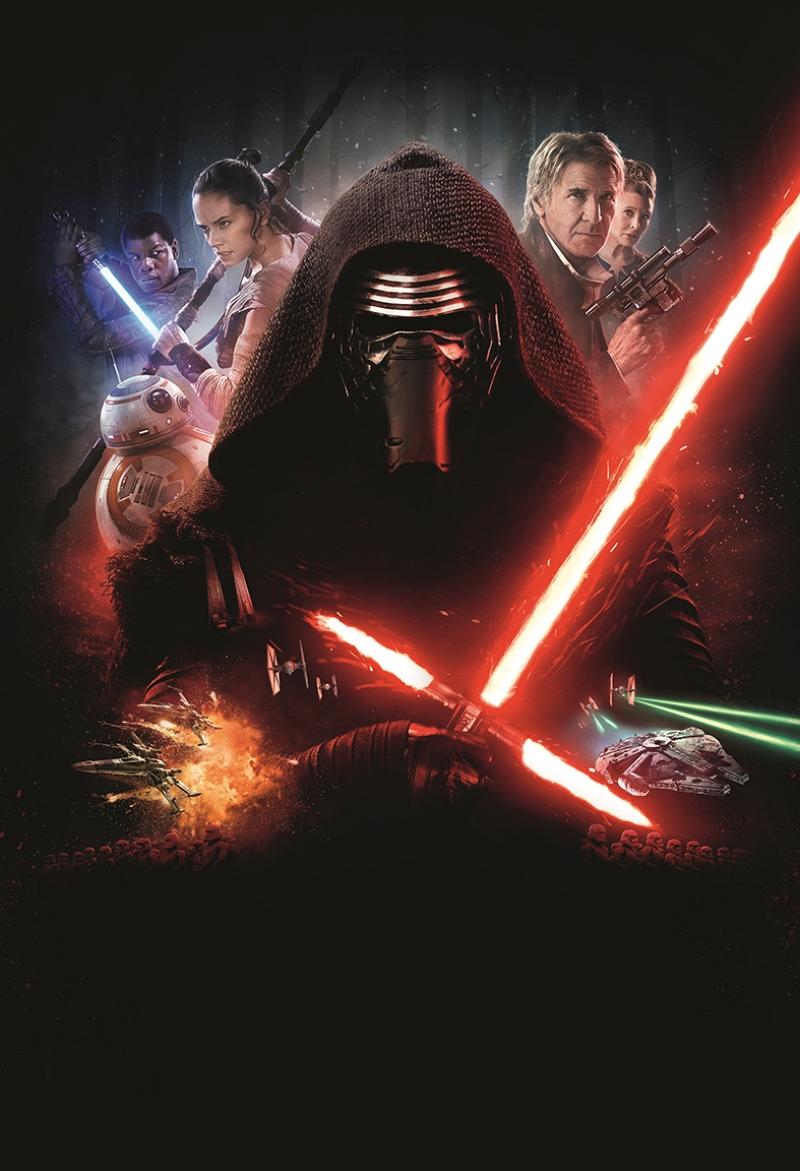Star Wars Alternatif Afiş Star Wars Kanvas Tablo