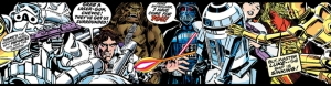 Star Wars Comic Star Wars Kanvas Tablo