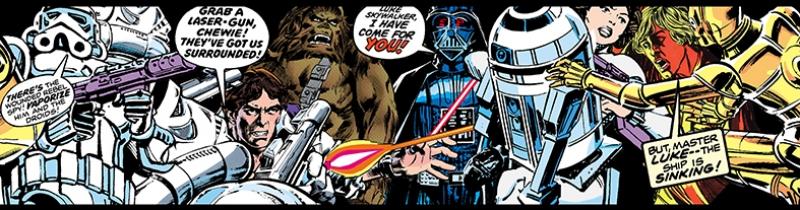 Star Wars Comic Star Wars Kanvas Tablo