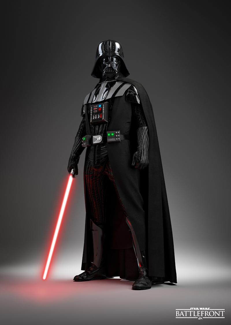 Star Wars Darth Wader Kanvas Tablo