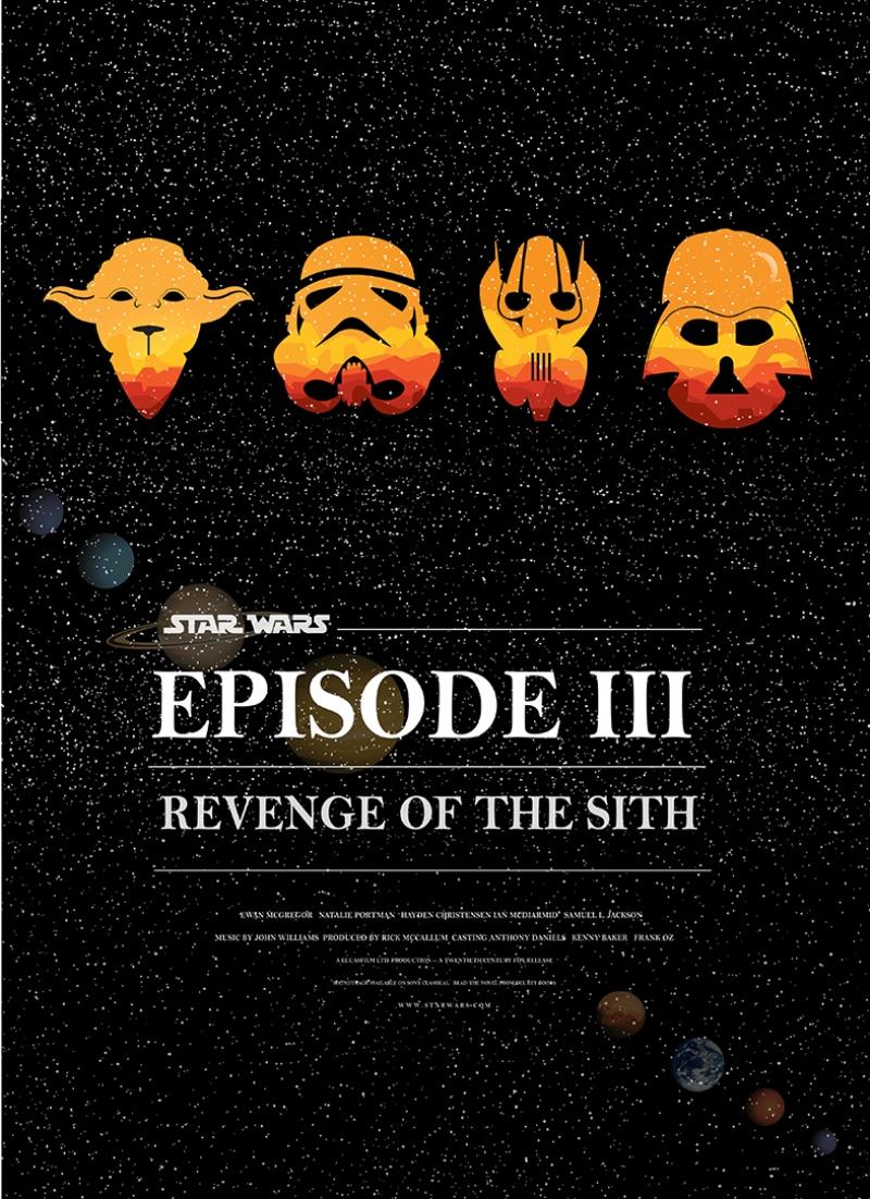 Star Wars Episode 3 Kanvas Tablo