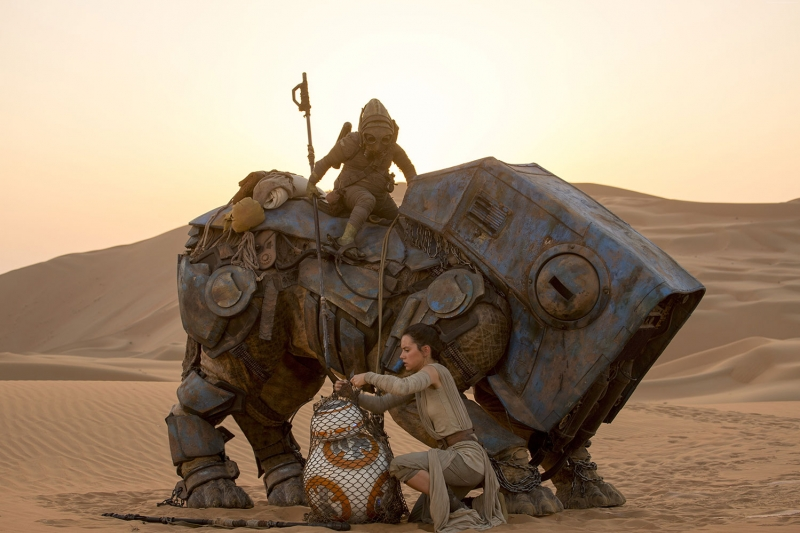 Star Wars Episode Vii The Force Awakens 4 En İyi Filmler Sinema Kanvas Tablo