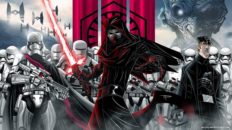 Star Wars İllustrasyon Star Wars Kanvas Tablo 2