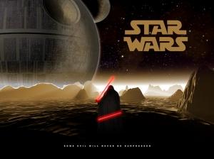 Star Wars İllustrasyon Star Wars Kanvas Tablo