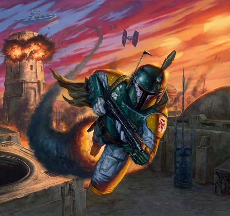 Star Wars Karakter Star Wars Kanvas Tablo