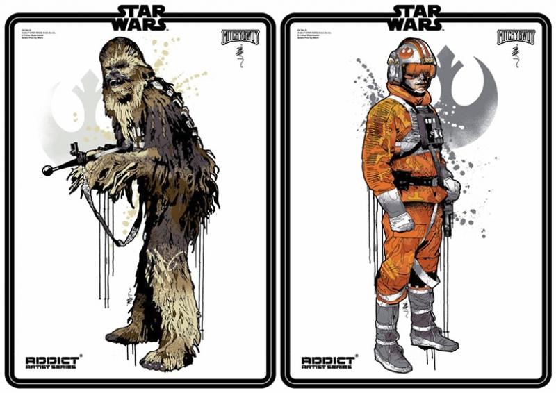 Star Wars Karakterleri Kanvas Tablo