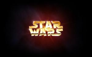 Star Wars Logo Popüler Kültür Kanvas Tablo