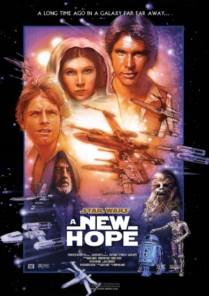Star Wars New Hope Yeni Umut Kanvas Tablo