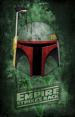 Star Wars Poster-1 Popüler Kültür Kanvas Tablo