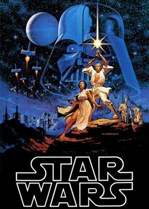 Star Wars Poster-3 Popüler Kültür Kanvas Tablo