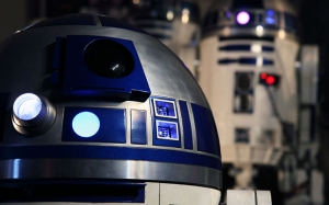 Star Wars R2D2 Kanvas Tablo