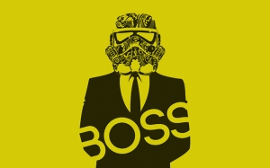 Star Wars Stormtroopers Boss Kanvas Tablo