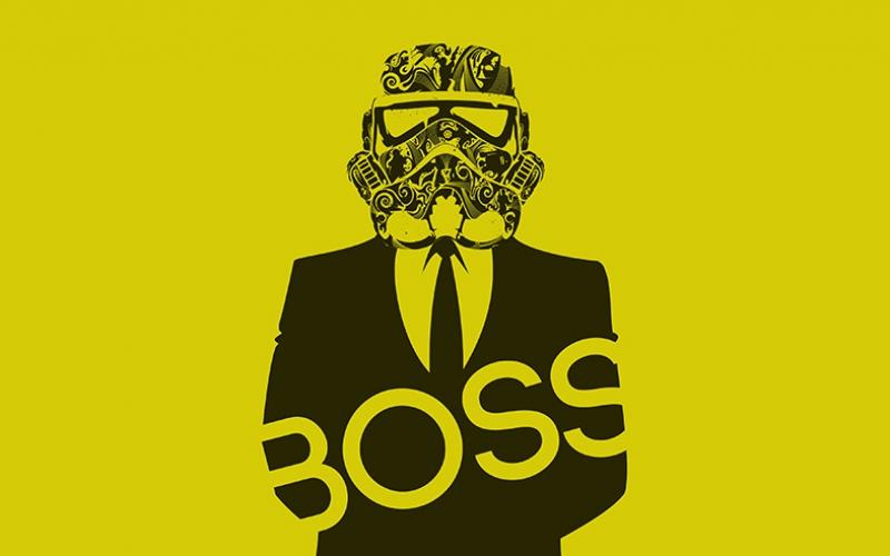 Star Wars Stormtroopers Boss Kanvas Tablo