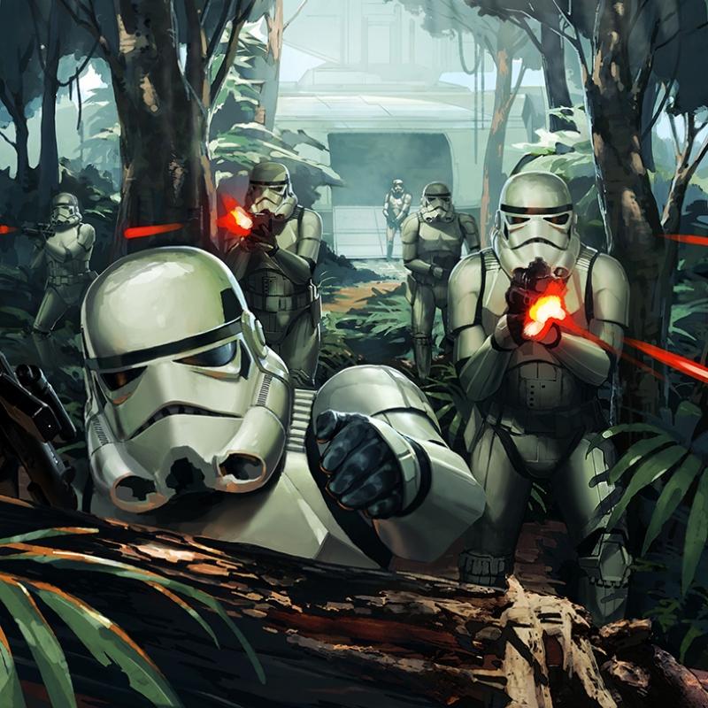 Star Wars Stormtropper Kanvas Tablo
