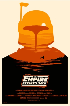 Star Wars The Empire Strikes Back Afiş Kanvas Tablo