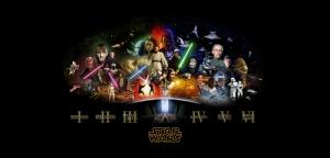 Star Wars Trigology Afiş Kanvas Tablo