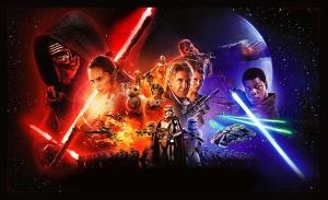 Star Wars Yatay Star Wars Kanvas Tablo