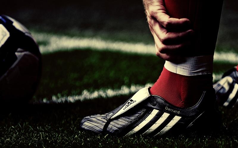 Steven Gerrard Ayakkabı Liverpool Kanvas Tablo