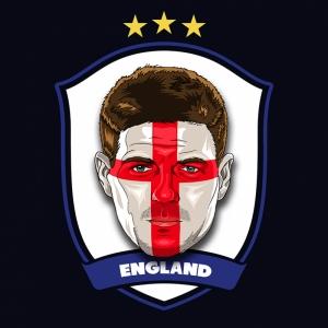 Steven Gerrard Ingiltere Futbol Spor Kanvas Tablo