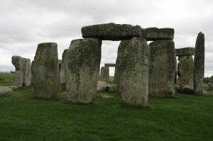 Stonehenge Unesco Dünya Kültür Mirasları Kanvas Tablo