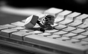 Stormtrooper Star Wars Lego Popüler Kültür Kanvas Tablo