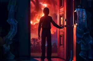 Stranger Things Poster-2 Kanvas Tablo