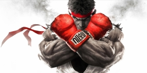 Street Fighter 2 Boks Spor Kanvas Tablo
