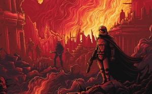 Stromtrooper Star Wars İllustrasyon Popüler Kültür Kanvas Tablo