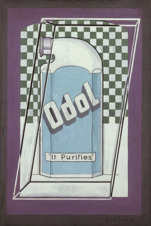 Stuart Davis Odol Yagli Boya Klasik Sanat Kanvas Tablo