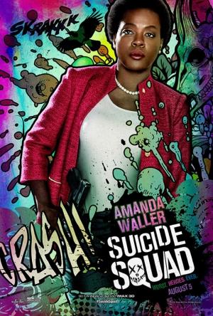Suicide Squad Amanda Waller Poster Kanvas Tablo