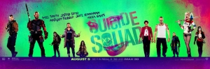 Suicide Squad Banner Pop Art Kanvas Tablo