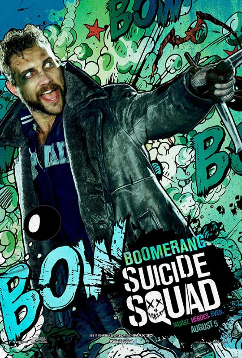 Suicide Squad Captain Boomerang Poster Kanvas Tablo