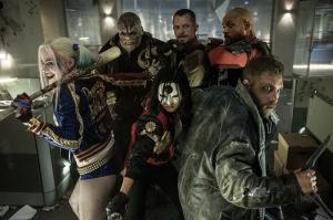 Suicide Squad Deadshot Harley Kanvas Tablo