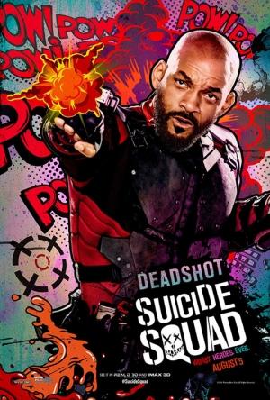 Suicide Squad Deadshot Poster Kanvas Tablo