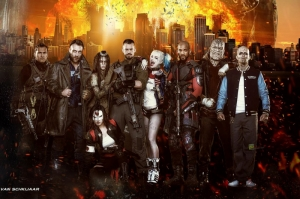 Suicide Squad Fun Art Kanvas Tablo
